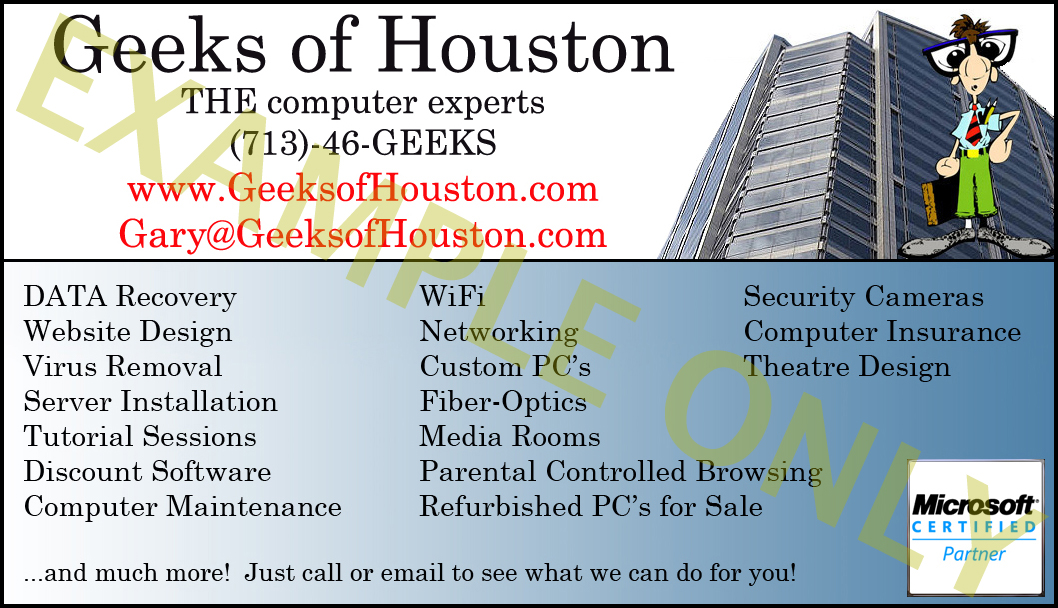 Computer repair business cards gidiyedformapolitica computer repair business cards call 713 46 geeks houston computer repair data recovery virus colourmoves Images